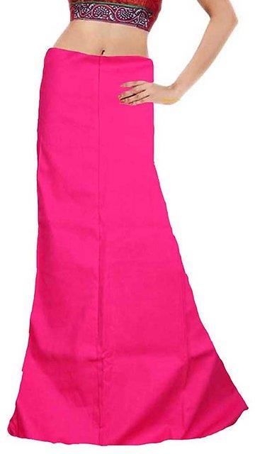 a21690250d74e Buy Kanchoo Pure Cotton 7 Part Saree Petticoat - Inskirt Set Of 5 ...