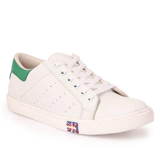 Buy Mykon White Sneakers Shoes Online