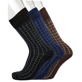 Cotton Formal Socks For Men In Assorted Colors