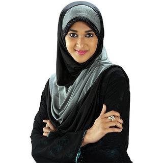 Parvin Afra108 Black Hijab