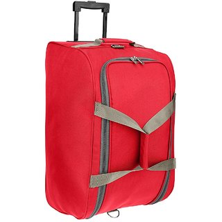 PRONTO SWEDEN DUFFLE TROLLEY 55 RED