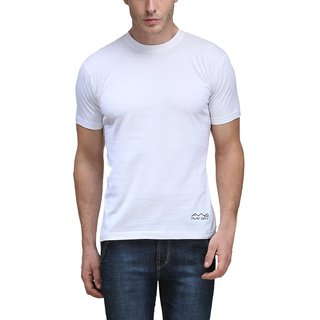 Men's  Round Neck Dryfit T-shirt - White