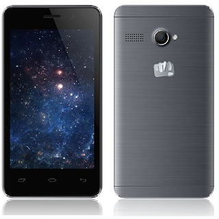 Micromax Bolt Q326 +  1  GB, 8  GB, Grey  Smartphones