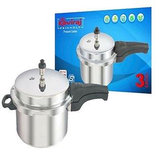 Kaviraj Pressure Cookers  3 ltrs