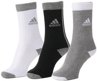 Adidas Men's Full Cushion Crew Socks (Pack of 3)