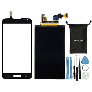 Sunways Lcd Display Screen Replacement + Black Touch Digitizer Glass Screen Replacement For LG Optimus G