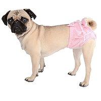 CueCue Pet Comfy Pet Sanitary Underwear, Medium, Pink