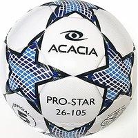 ACACIA Pro Star Soccer Ball, White, Size 5