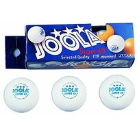 JOOLA Super 40 3-Star Table Tennis Balls - 3 Pack - Whi
