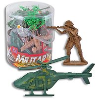 Combat Action Military Playset - 35 Peices