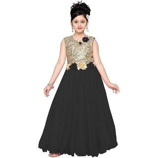 Aarika Net Fabric Self Design Gown
