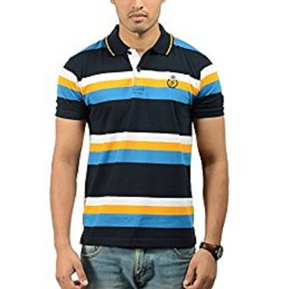 ToneRound Neck Half Slim Fit Cotton T-Shirt
