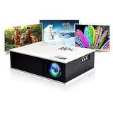 """UNIC 200"""" UC80 HDMI Portable LED Projector Home Theater SVGA USB 1500 Lums 1080"""