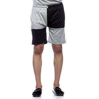 Demokrazy Men's Grey Shorts