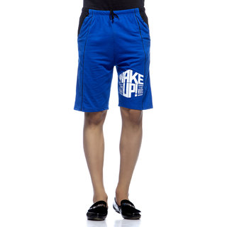 Demokrazy Men's Blue Shorts