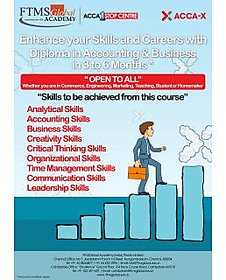 ACCA X Diploma in accounting and Business