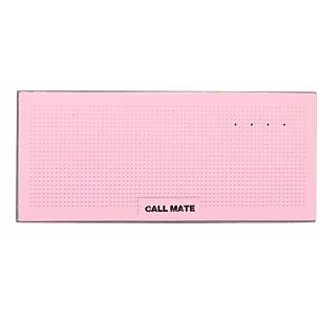 Callmate Power Bank Muisc Box Metal 13000 mAh-Pink