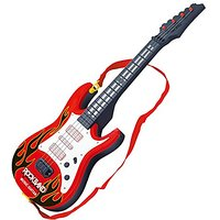 Electric Guitar Toy, Yamix 4 Strings Rock Band Music El