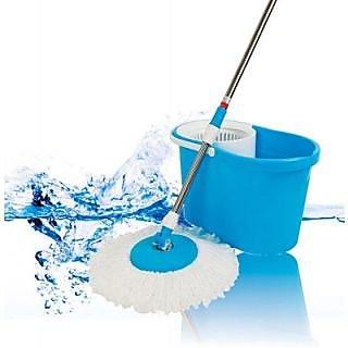 Magic Bucket Mop Plastic