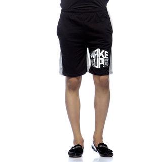 Demokrazy Men's Black Shorts