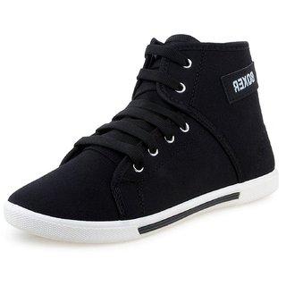 Men's Boxer Black Casual Shoe