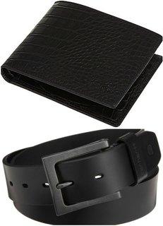 Zakina Men Belt Wallet Exclusive Combo ZE1