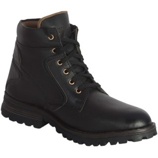 Lee Peeter Men Black Casual Boots
