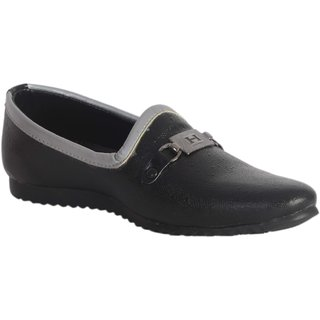 Lee peeter Men Black Jutti