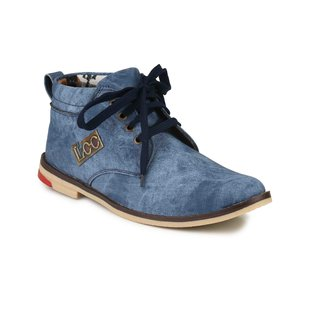 Lee Peeter Men Blue Casual Boots