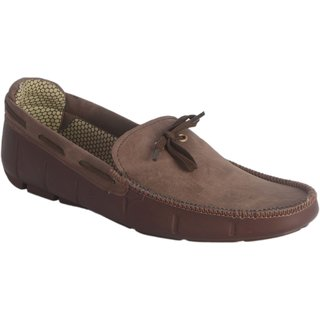Lee Peeter Men Coffee Loafers