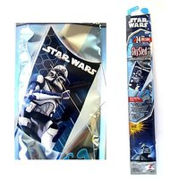 "Star Wars Sky Sled Kite 24"" Wide The Clone Wars"