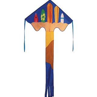 In The Breeze Surf's Up Fly-Hi Delta Kite, 48-Inch