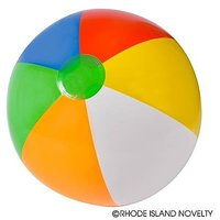 6 Twenty Inch Multi Color Beach Balls/Water/Pool Toys
