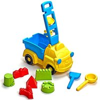 Beach Toys Deluxe Set 9 Pieces Large Dump Truck Sand Mo