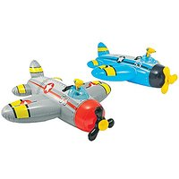 "Intex Water Gun Plane Ride-On, 52"" X 51"", For Ages 3+,"