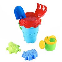 Colorful Sea Animals And Castle Beach Toy Set With Wate