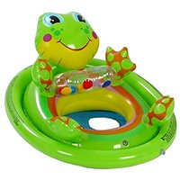 Intex Inflatable See Me Sit Pool Ride For Age 3-4 Frog