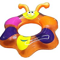 Cute Bee Pattern Inflatable Swimming Ring PVC Baby Kids