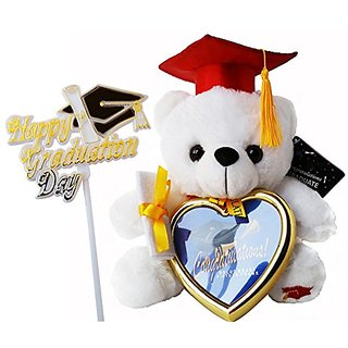 Buy Best Graduation 2017 Extra Plush Animal Teddy Bear With Red Cap