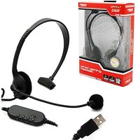 Wired Gaming Headset BRAND NEW For Sony Playstation 3 P