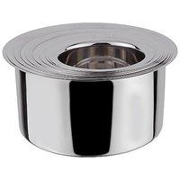 Grish Stainless Steel Flat Bottom Patila - Set Of 5