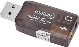 Quantum Usb Sound Card Qhm 623 Virtual 5.1 Stereo With 12 Months Warranty