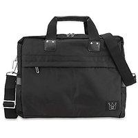CaseCrown Smart Briefcase with Shoulder Strap (Black) for 13 Inch Apple MacBook Air / MacBook Pro