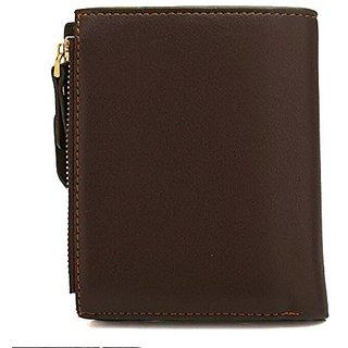 Kanha Bogesi Premium Bifold Leather Men's Wallet-Brown color