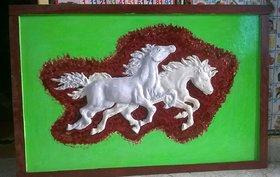 3D splendid horses