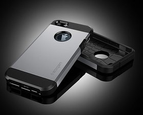 Apple iPhone 5/5S  Tough Armor Case/Cover-Luxury PU/TPU Matte Finish