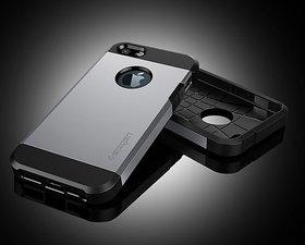 Apple iPhone 5/5S  Tough Armor Case/Cover-Luxury PU/TPU Matte Finish