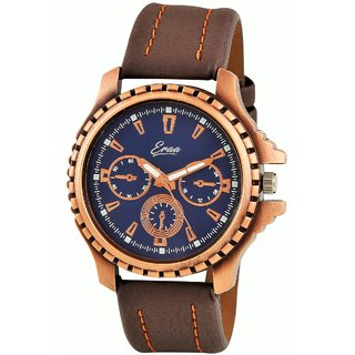 Eraa Men's Copper Casual Analog Watch  EMGXCPR144