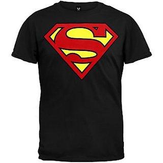 Superman Tshirt For Men Black Color