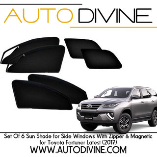 Buy New Toyota Fortuner Car Accessories Side Window Zipper
